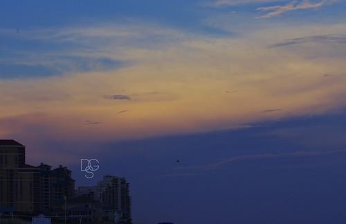 sky clouds sunrise florida destin miramarbeach