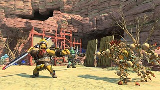 Knack Out Today for PS4