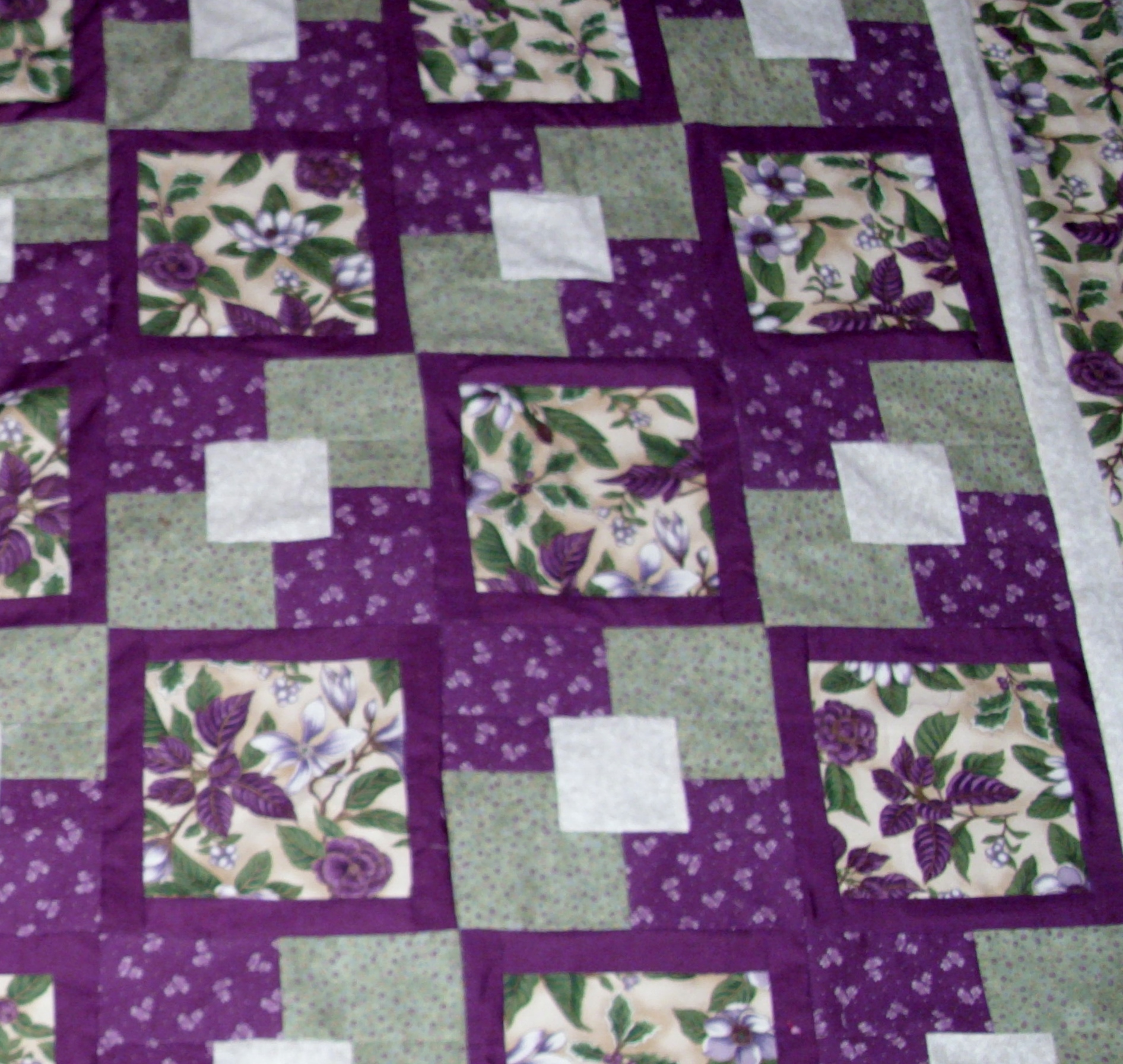 Close Up Of Five Yard Quilt Flickr Photo Sharing
