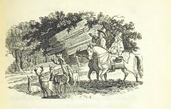 """British Library digitised image from page 329 of """"Robin Hood; a collection of all the ancient poems, songs, and ballads now extant relative to that ... outlaw. To which are prefixed historical anecdotes of his life [Edited by J. Ritson. With wood engravin"""