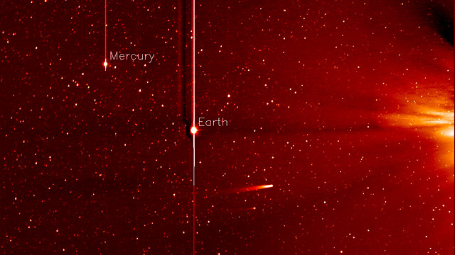 Comet ISON Approaching the Sun [still]