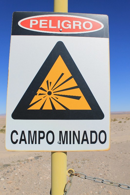 Mine field, 10km from San Pedro de Atacama
