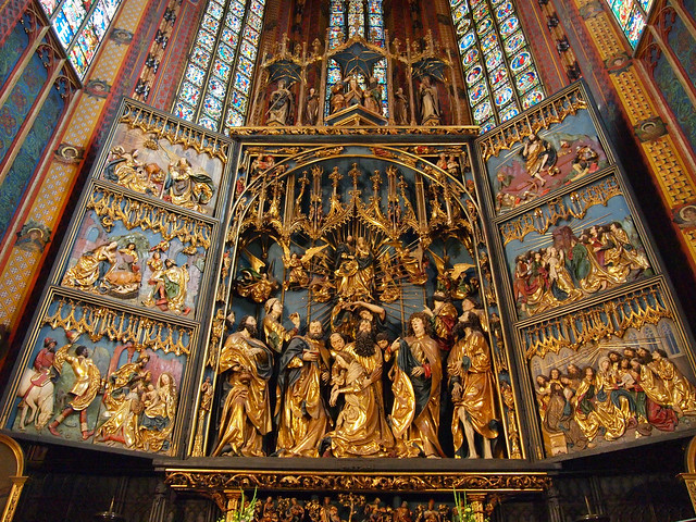 Altarpiece of St. Mary's Basilica, Krakow
