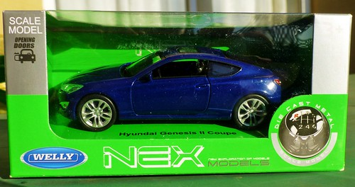 Welly 1:34-1:39 Hyundai Genesis II Coupé