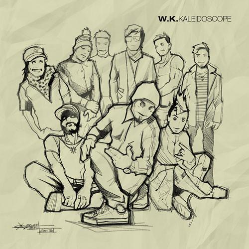 W.K.? - Kaleidoscope (2013) / rock , funk , drum'n'bass , reggey