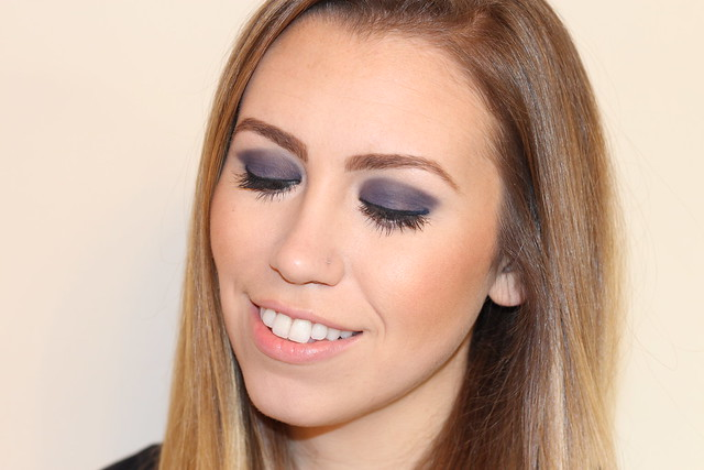 Living After Midnite: Makeup Monday: Navy Eye Makeup