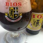 ベルギービール大好き!! ビオス・クリーク Bios Kriek