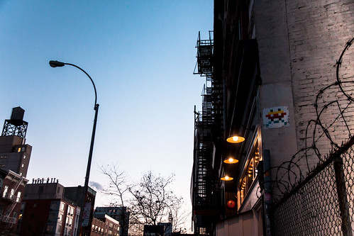Invader on The Bowery
