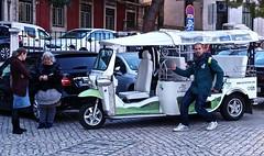 Lisbon touristic 'TukTuk'
