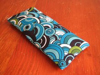 Geometric eye pillow