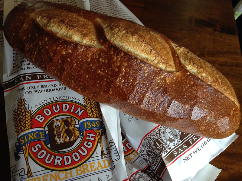 Complimentary Sourdough French Bread