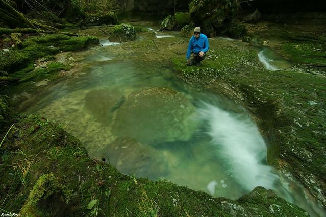 Enorme mamite en aval des Gorges de l'Audeux -Silley-Bléfond