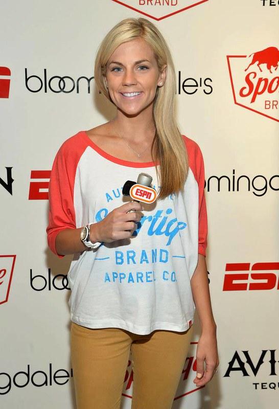 Samantha Ponder ESPN Reporter