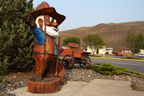 Cariboo Gold Rush Tribute, Cache Creek, Thompson Okanagan, British Columbia