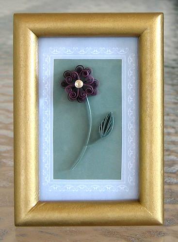 Quilled Heart Flower Tutorial