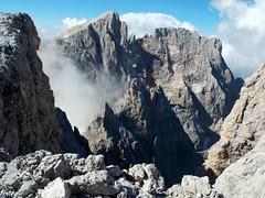 Foto per 24a. Cima Vezzana e Cimon della Pala, visti dal Passo dei Bureloni.