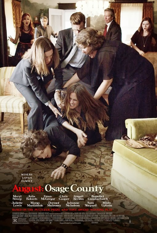 the poster for August Osage County