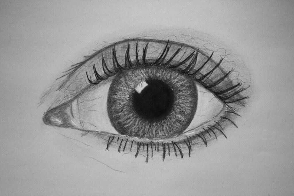 Auge Pencil On Paper Gret B Flickr