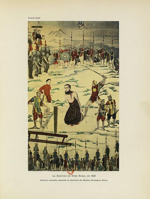 Cuộc tử đạo của Cha Borie năm 1838 - Le Martyre du Père Borie, en 1838