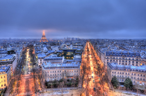 Paris By Night HDR