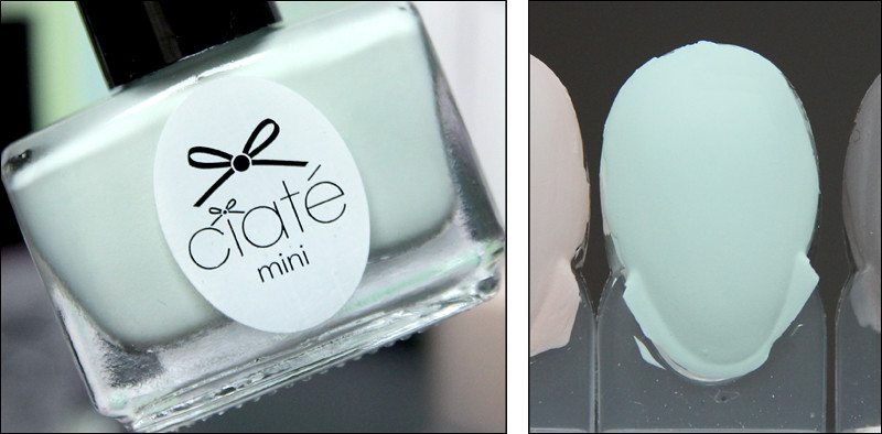 Ciaté Sweet pea swatch
