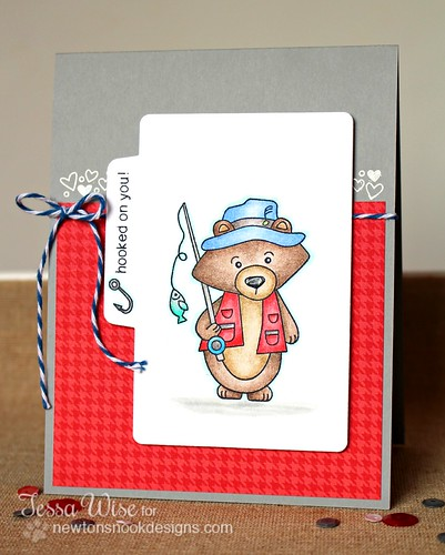 Fisher Bear Card