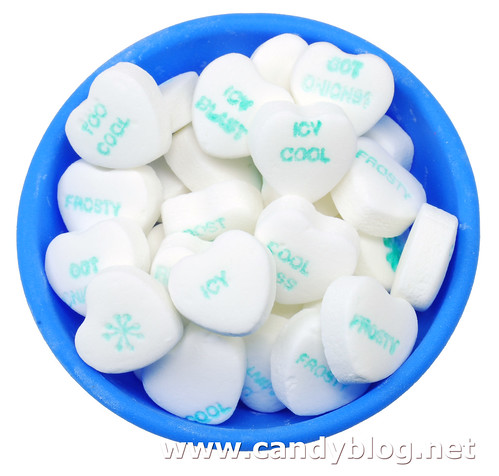 Necco Sweethearts Cool Hearts