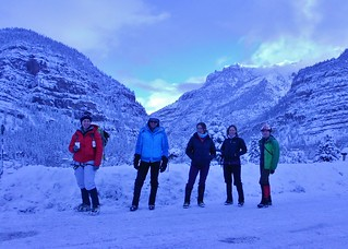 Ice Climbing Chicks at Ouray