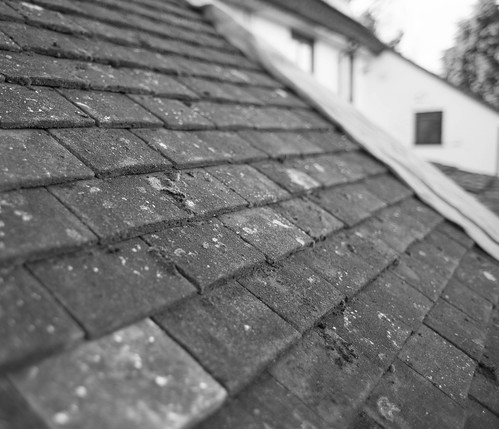 Reclaimed tile roof
