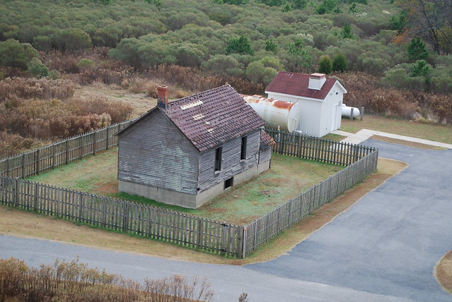 This old farmhouse located in the park was probably used to store produce or tobacco.