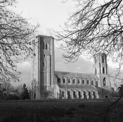 The Twin Towers of old Wymondham Abbey