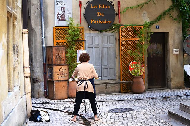 Painting, Saint Remy de Provence, France