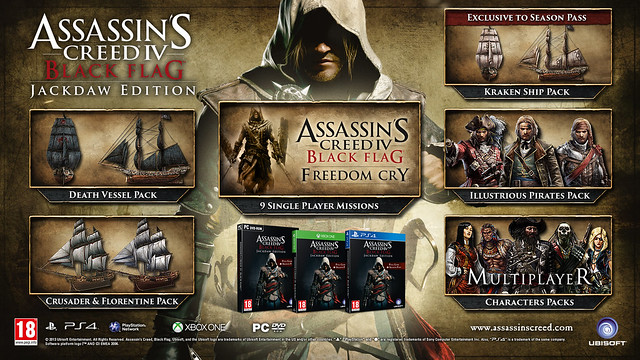 Jackdaw Edition Assassin's Creed IV: Black Flag