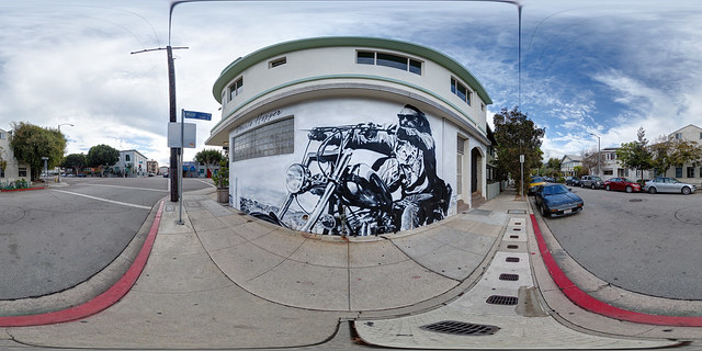 Dennis Hopper Mural by Jonas Never  - Venice Beach, California