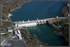 Verbois Hydro-Electric Dam - River Rhône