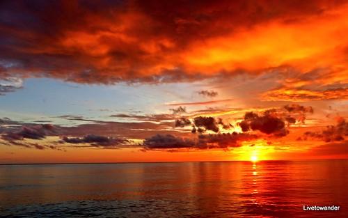 sunset naturaleza nature natureza panasonic pacificocean southpacific tropical png papuanewguinea tropics equatorial coralsea niugini milnebay papouasienouvelleguinée papuaniugini papúanuevaguinea fz200 panasonicfz200 panasonicdmcfz200 lpreflective