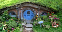 Hobbit Set: Matamata, New Zealand