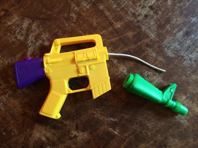 broke pistol