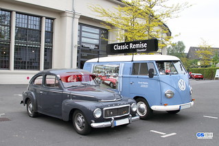 1958 - 1965 Volvo PV544 and 1950 - 1967 Volkswagen Bus T1