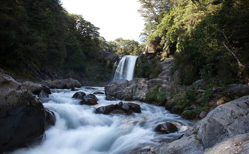 Tawhai Falls, Tongariro National Park, New Zealand