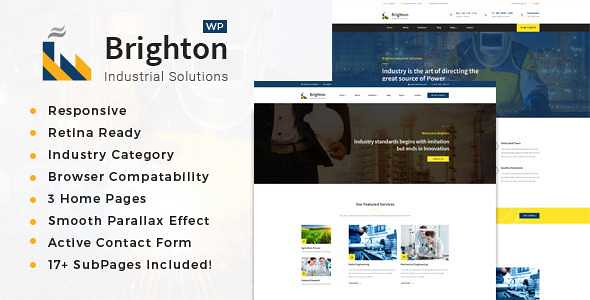 Brighton WordPress Theme free download