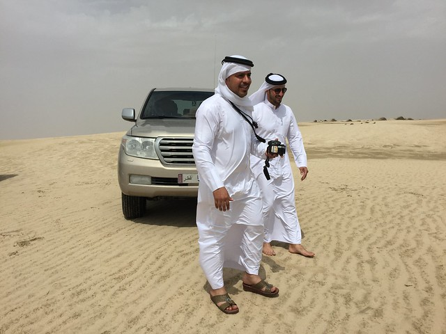 Our drivers. Dunes are scared.
