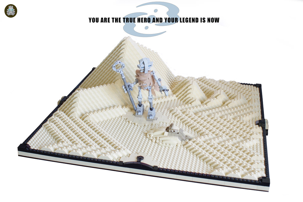 You are the true hero and your legend is now (custom built Lego model)