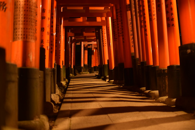 Japan Bucket List - Kyoto's Fushimi Inari Shrine, at sunset - Japan