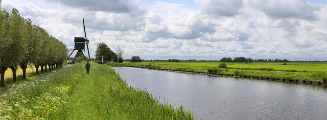 The Kockengense Mill is part of the Dutch polder landscape