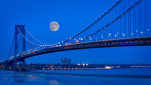 architecture bay bayridge beautiful blue bridge brooklyn city cityscape connection cr2017 doubledecked engineering evening expressway fullmoon highway hudsonriver illuminated infrastructure jerryfornarotto landscape lights longexposure moon newyork newyorkcity night ny nyc reflection river skyline statenisland steel straights suspension suspensionbridge traffic transportation travel urban verrazano verrazanobridge verrazanonarrows verrazanonarrowsbridge water