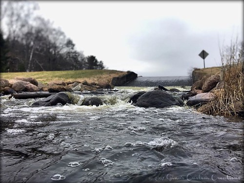 #rosholt #wisconsin #pond #dam in #earlyspring 😊