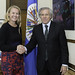 Secretary General Meets with Chair of Girls Not Brides: The Global Partnership to End Child Marriage