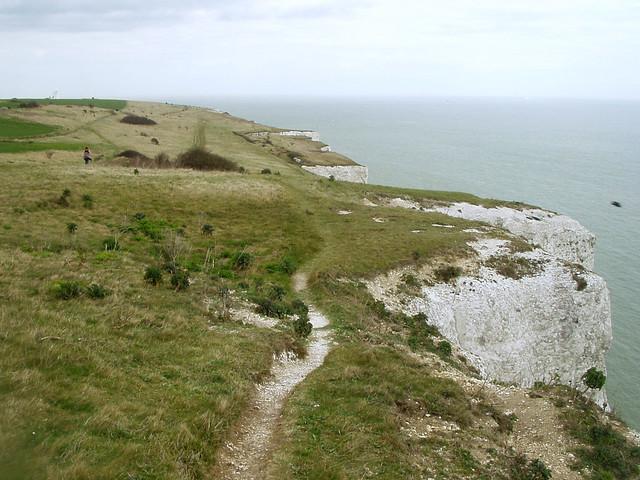 The Saxon Shore Way near Dover
