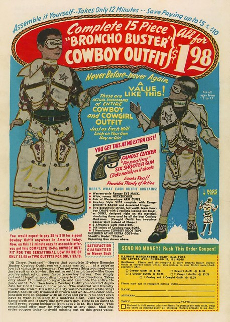 Bronco Buster Outfit--Atom Age Combat #1